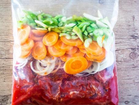 Como preparar refeições congeladas para o mês todo?   Parte 2: Embalagens e Descongelamento