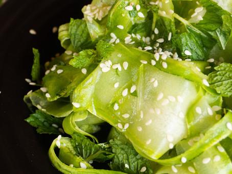 Salada de Abobrinha com Limão | Receita