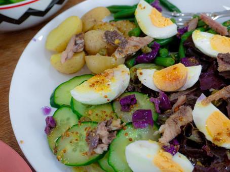 Salada Niçoise com Sardinhas | Jantar Preguiçoso | Receita