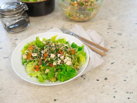 Salada Marinada com Lentilha | Receita