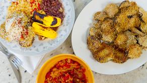Berinjela Empanada com Molho de Tomate Rústico | Receita