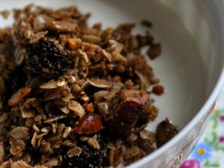 Granola e Iogurte Caseiros | Receita