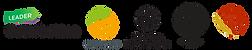 bilden föreställer logon för: Leader Österbotten, Landsbyggd 2020, Svenska Kulturfonden, Svenska folkskolans vänner, Svensk österbottniska samfundet.