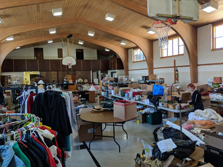 With Thanks: 2019 Rummage Sale