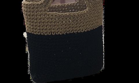 Make your own purse using yarn