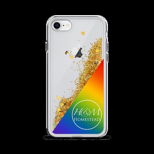 H&M Homestead Pride Liquid Glitter Phone Case