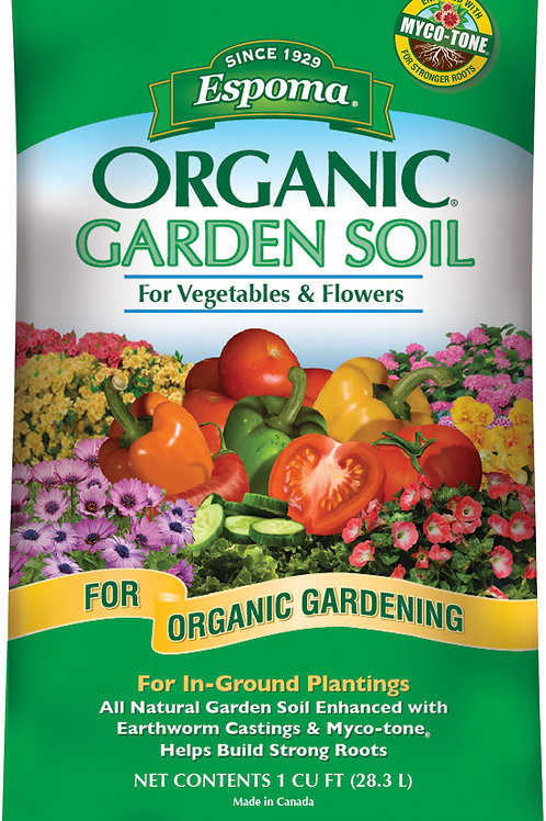 Organic Garden Soil For Vegetables And Flowers by Espoma