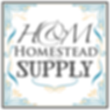 H&M Homestead Supply 3 white bkgd bold h