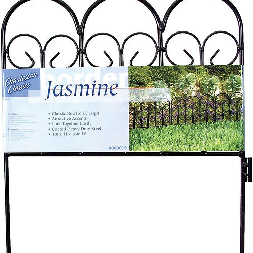 Charleston Classics Jasmine Border Fence