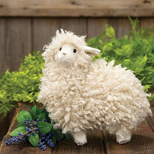 Handcrafted Fuzzy Sheep