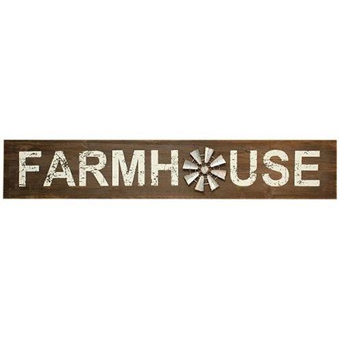 Farmhouse Windmill Sign