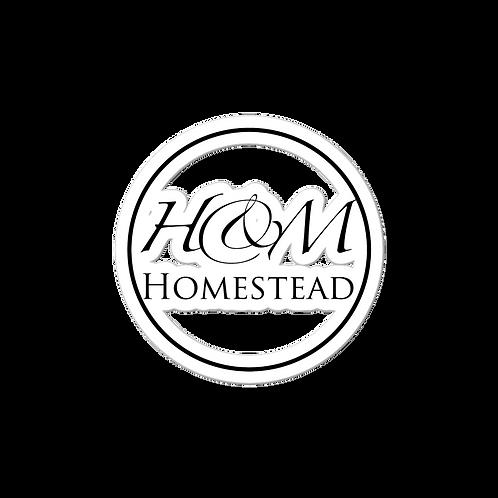 H&M Homestead Round Bubble-free stickers