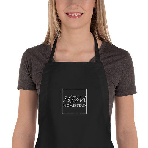 H&M Homestead Embroidered Apron