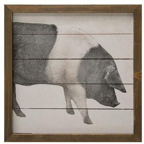 Simply Farmhouse Sign - Pig