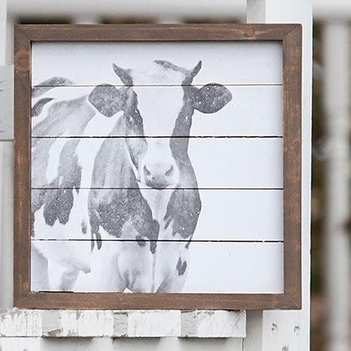 Simply Farmhouse Cow Sign