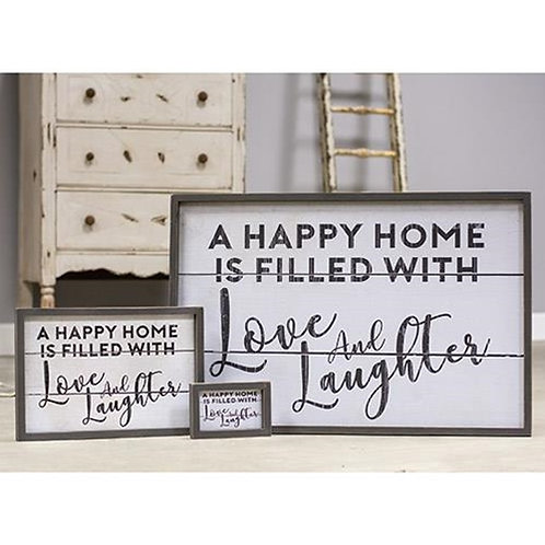 Love and Laughter Wall Art