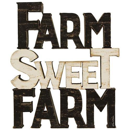 Farm Sweet Farm Word Stack