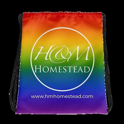 H&M Homestead Pride Drawstring bag