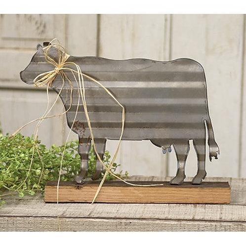 Corrugated Cow On Base