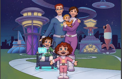 Scottie on the Space Station Family
