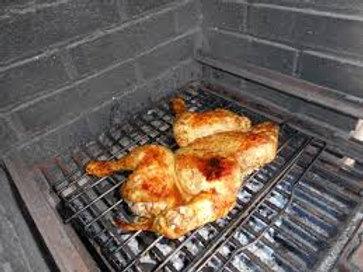 Halved Chicken