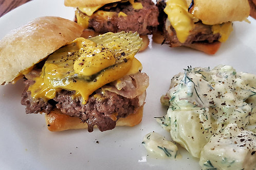 Ground Beef Sliders