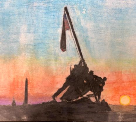 Iwo Jima by Kurt Kleck