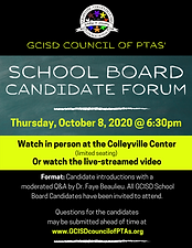 Council Candidate forum 2020 flyer copy.