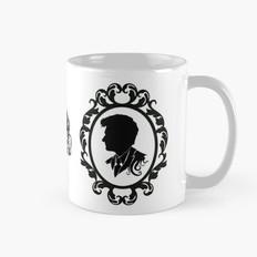 Silhouettes Mug, White