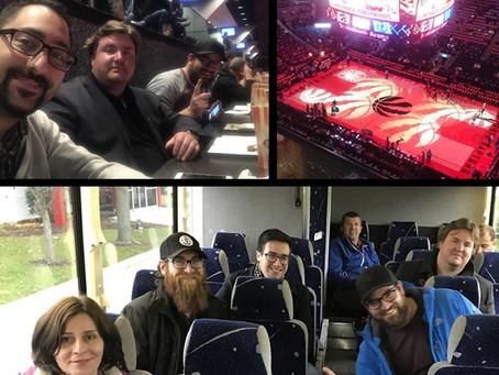 Toronto Raptors Trip!