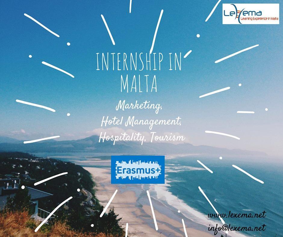 Internship Malta, Lexema, Erasmus+