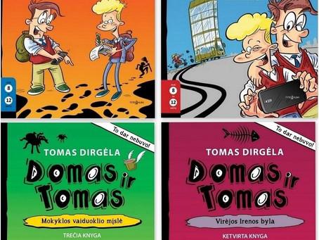 """""""Domo ir Tomo"""" anatomija"""