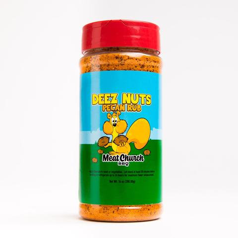 Deez Nut Honey Peca BBQ Rub