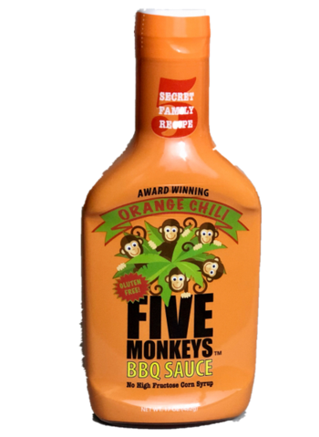 "FIVEMONKEYS""Orange Chili"" 17oz"