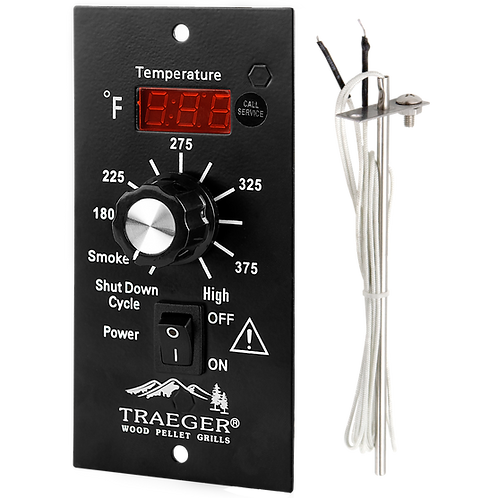 BBQ Dig.Thermostat Kit 90-240V