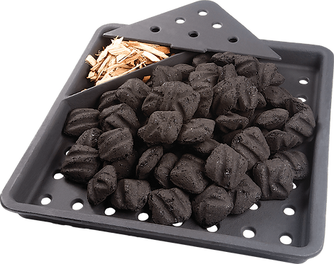 BBQ Cast Iron Charcoal Tray