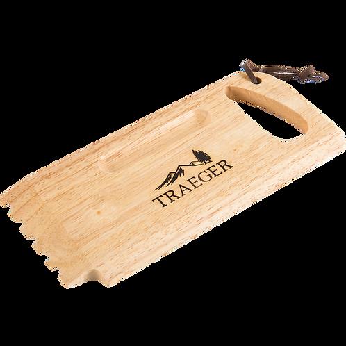 """BBQ Wood Scraper """"Traeger"""""""