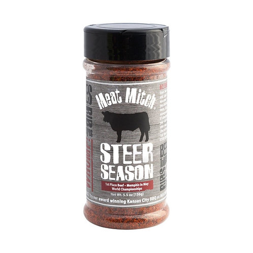 "Meat Mitch ""Steer"" BBQ Rub"