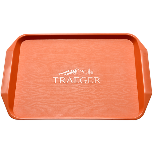 "BBQ tray ""Traeger Orange"""