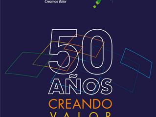 50 Años Creando Valor - Tecnoconsult publica su libro digital aniversario