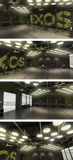 EXOS Boutique Studio Design
