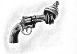 Untitled - Graphite on Newsprint