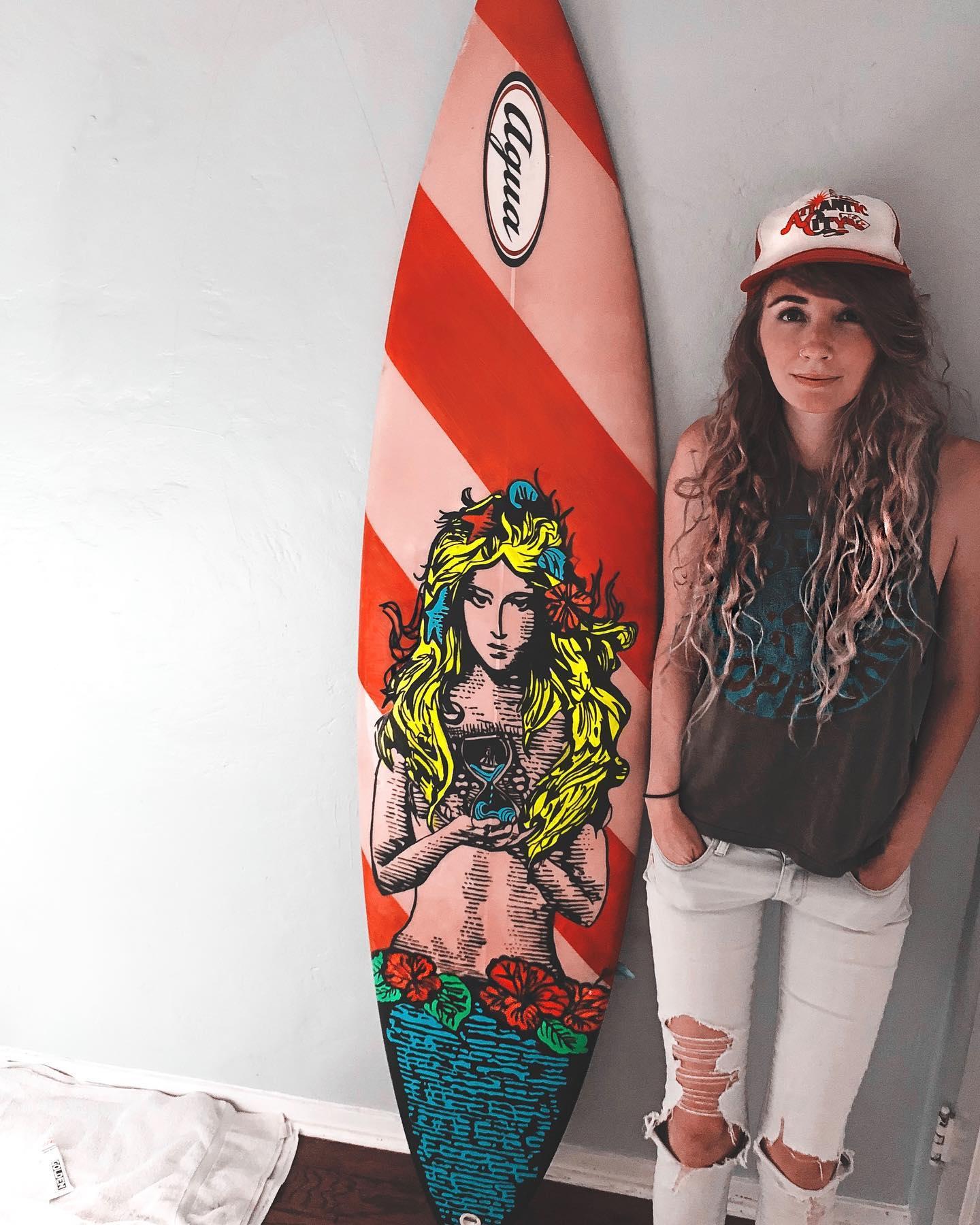 Custom Surfboard Commission