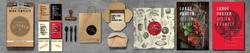 EXOS Cafe Rebrand Identity Package