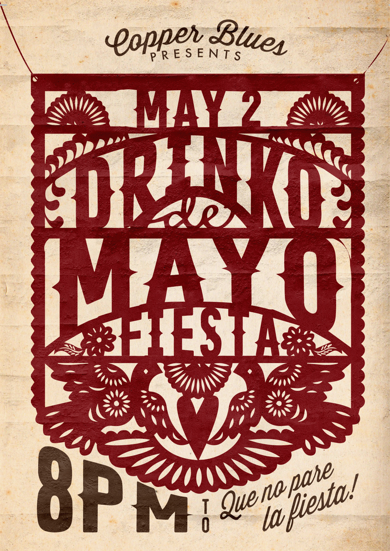 """Drinko de Mayo"" Poster Design"
