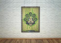 Yoga Studio Poster Art