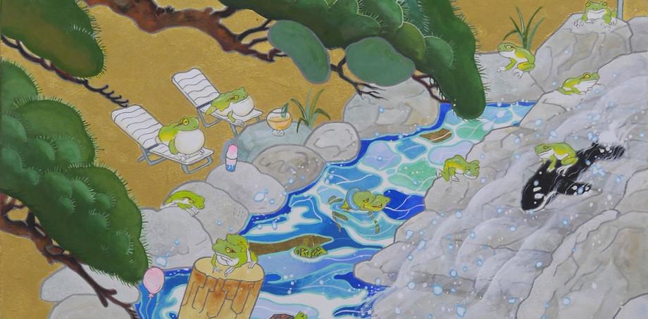 Frog life in Mt.Fuji