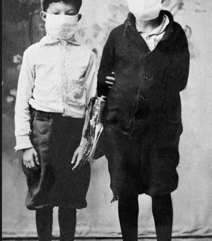Boys with Masks