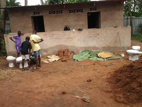 Building new washroom