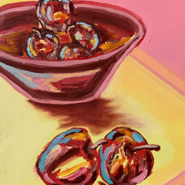 Another Painting Of Apples